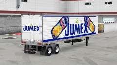 Скин Jumex на рефрижераторный полуприцеп для American Truck Simulator