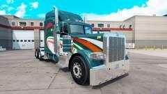 Скин Hoffman v2 на тягач Peterbilt 389 для American Truck Simulator
