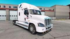 Скин Estafeta на тягач Freightliner Cascadia для American Truck Simulator
