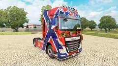 Скин New Russia на тягач DAF для Euro Truck Simulator 2