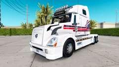 Скин Flecoli на тягач Volvo VNL 670 для American Truck Simulator