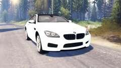BMW M6 (F13) v2.0 для Spin Tires