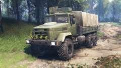 КрАЗ-6322 v3.0 для Spin Tires