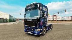 Скин AC-DC на тягач Scania для Euro Truck Simulator 2