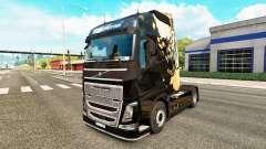 Скин Dying Light на тягач Volvo для Euro Truck Simulator 2