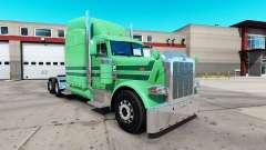 Скин A. J. Lopez на тягач Peterbilt 389 для American Truck Simulator
