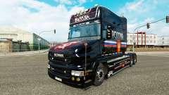 Скин Russia на тягач Scania T для Euro Truck Simulator 2