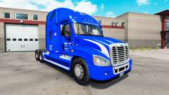 Скин Walmart на тягач Freightliner Cascadia для American Truck Simulator