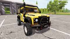 Land Rover Defender 90 Dakar для Farming Simulator 2017