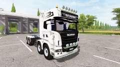Scania R730 container для Farming Simulator 2017