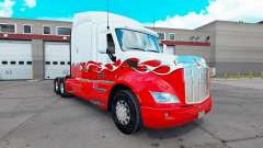 Скин Pick-Up на тягач Peterbilt 579 для American Truck Simulator
