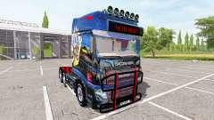Scania R700 Evo schubert v1.0 для Farming Simulator 2017