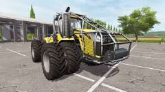 Challenger MT955E forest edition для Farming Simulator 2017