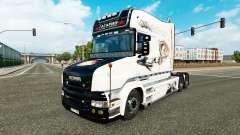 Скин Гагарин на тягач Scania T для Euro Truck Simulator 2
