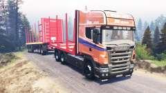 Scania R620 v3.0 для Spin Tires