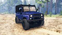 УАЗ-31514 v1.1 для Spin Tires