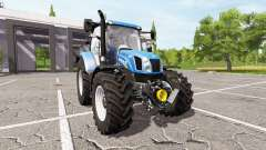 New Holland T6.140 для Farming Simulator 2017
