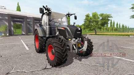 Fendt 310 Vario black beauty для Farming Simulator 2017