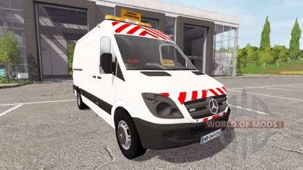 Mercedes-Benz Sprinter convoi forestier для Farming Simulator 2017