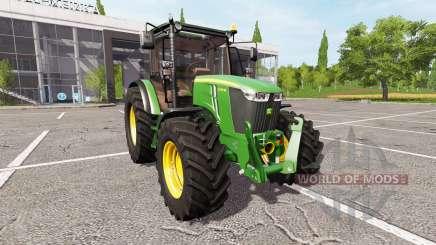 John Deere 5100M для Farming Simulator 2017