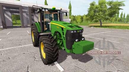 John Deere 8330 для Farming Simulator 2017