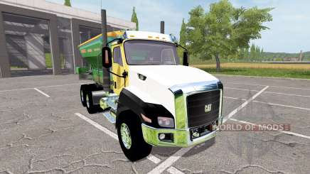 Caterpillar CT660 spreader для Farming Simulator 2017