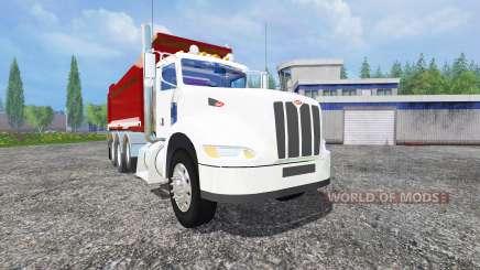 Peterbilt 384 dump для Farming Simulator 2015