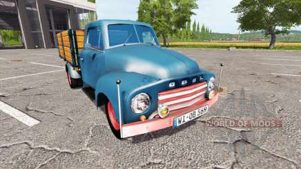 Opel Blitz 1956 для Farming Simulator 2017