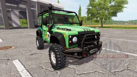 Land Rover Defender 90 Dakar v2.0 для Farming Simulator 2017