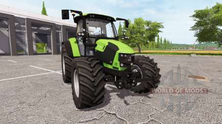 Deutz-Fahr 5110 TTV для Farming Simulator 2017