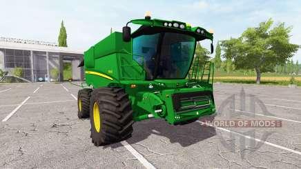 John Deere S690i v2.0 для Farming Simulator 2017