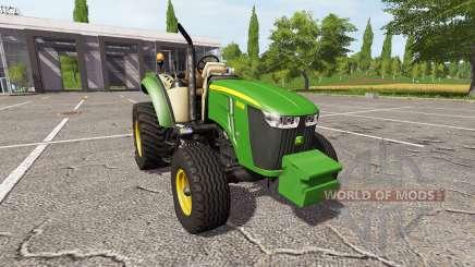 John Deere 5080M v2.0 для Farming Simulator 2017