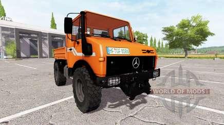 Mercedes-Benz Unimog U1600 для Farming Simulator 2017