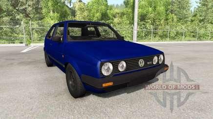 Volkswagen Golf Mk2 GTI 1987 update для BeamNG Drive