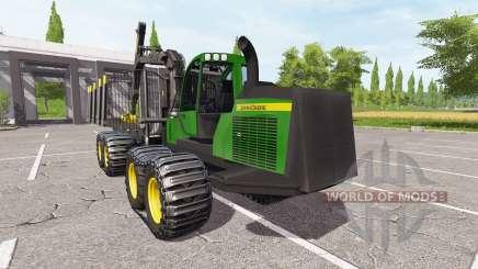John Deere 1910E для Farming Simulator 2017
