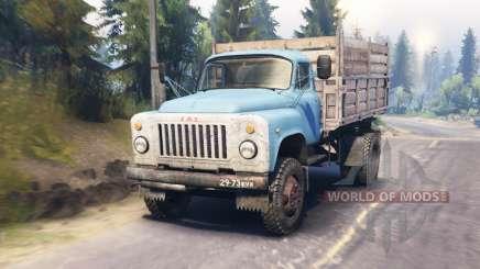 ГАЗ-53 для Spin Tires