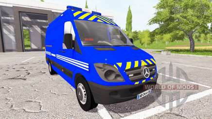 Mercedes-Benz Sprinter Gendarmerie для Farming Simulator 2017