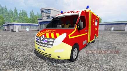 Renault Master Ambulance для Farming Simulator 2015