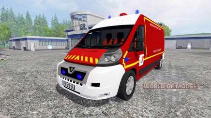Peugeot Boxer VPL для Farming Simulator 2015