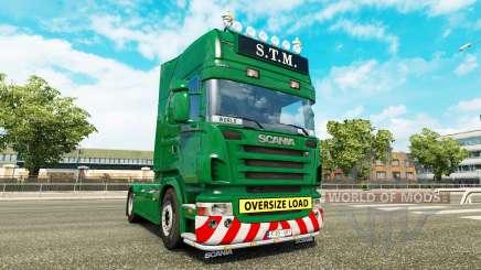 Scania R730 danmark class edition v1.15 для Euro Truck Simulator 2