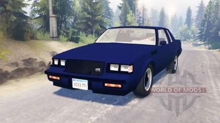 Buick GNX 1987 для Spin Tires