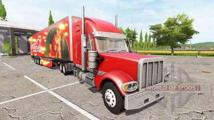 Lizard TX 415 Barrelcore Coca-Cola для Farming Simulator 2017