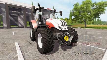 Steyr Multi 4125 Profi CVT ecotec для Farming Simulator 2017