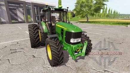 John Deere 6630 Premium для Farming Simulator 2017