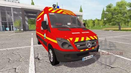 Mercedes-Benz Sprinter VSR v2.0 для Farming Simulator 2017