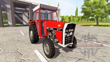 IMT 542 DeLuxe novi tip для Farming Simulator 2017