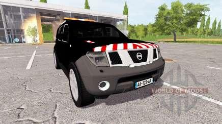 Nissan Pathfinder (R51) escorte для Farming Simulator 2017