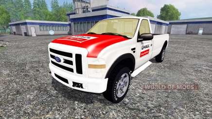 Ford F-250 single cab U-Haul для Farming Simulator 2015