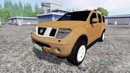 Nissan Pathfinder (R51) для Farming Simulator 2015