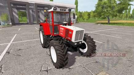 Steyr 8165A Turbo SK2 для Farming Simulator 2017